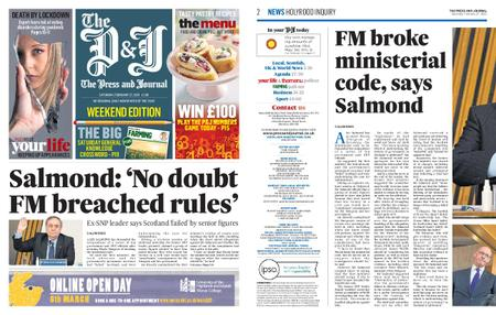 The Press and Journal Moray – February 27, 2021
