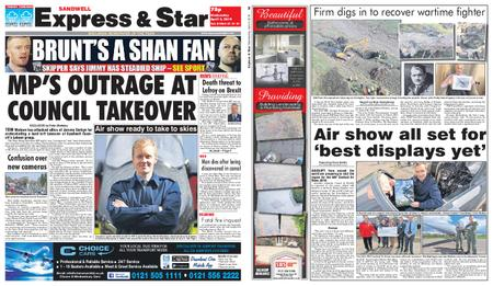 Express and Star Sandwell Edition – April 03, 2019