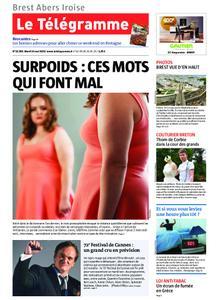 Le Télégramme Brest Abers Iroise – 14 mai 2019