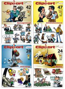 ClipArt Series C voll 01- 04