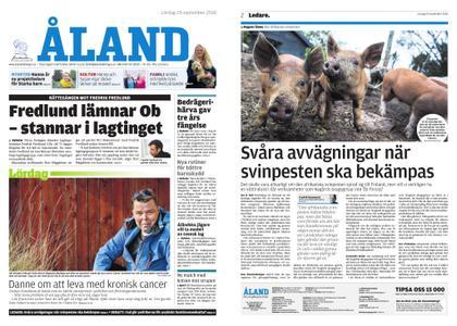 Ålandstidningen – 29 september 2018