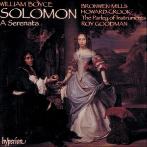 Roy Goodman, The Parley of Instruments - William Boyce: Solomon (1990)