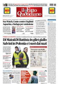 Il Fatto Quotidiano - 08 gennaio 2019
