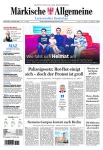 Märkische Allgemeine Luckenwalder Rundschau - 01. November 2018