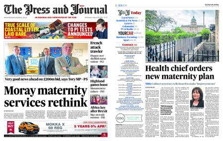 The Press and Journal Moray – August 29, 2018
