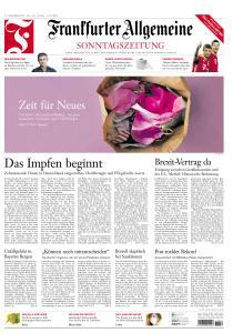 Frankfurter Allgemeine Sonntagszeitung - 27 Dezember 2020