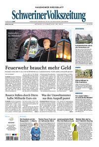 Schweriner Volkszeitung Hagenower Kreisblatt - 15. August 2018