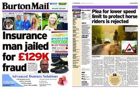 Burton Mail – August 29, 2018