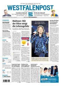 Westfalenpost Wetter - 26. Juli 2018