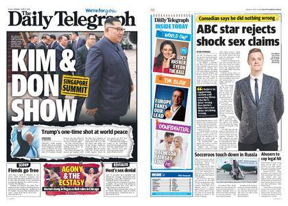 The Daily Telegraph (Sydney) – June 11, 2018