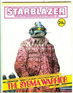Starblazer 156 - The Sygma Warrior (1985) (PDFrip