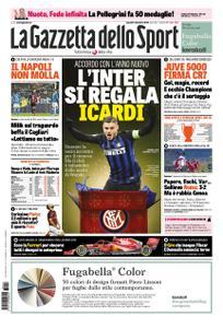 La Gazzetta dello Sport Roma – 17 dicembre 2018