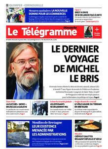 Le Télégramme Quimper – 31 janvier 2021