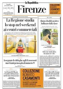 la Repubblica Firenze - 23 Ottobre 2020