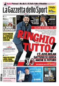 La Gazzetta dello Sport Roma – 06 aprile 2019