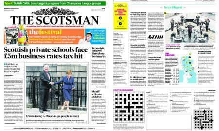 The Scotsman – August 23, 2017