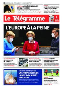 Le Télégramme Guingamp – 21 juillet 2020