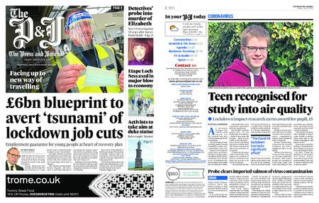 The Press and Journal Moray – June 23, 2020