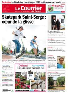 Le Courrier de l'Ouest Angers – 21 août 2020