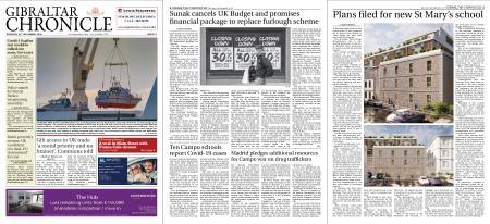 Gibraltar Chronicle – 24 September 2020