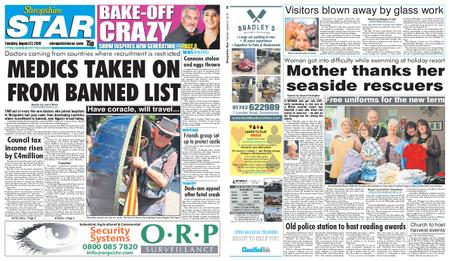 Shropshire Star Shrewsbury Edition – August 27, 2019