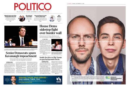 Politico – September 17, 2019