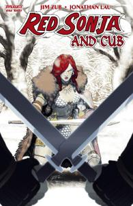 Dynamite-Red Sonja And Cub 2014 Hybrid Comic eBook