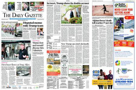 The Daily Gazette – September 22, 2018