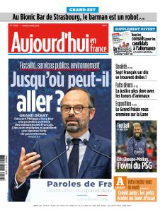 Aujourd'hui en France du Mardi 9 Avril 2019
