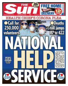 The Sun UK - 25 March 2020