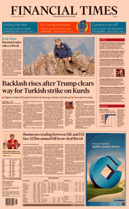 Financial Times Europe – 08 October 2019