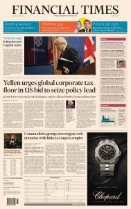 Financial Times Middle East - April 6, 2021