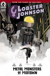 Lobster Johnson - Metal Monsters of Midtown 01 of 03 2016 digital