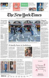 International New York Times - 9-10 May 2020