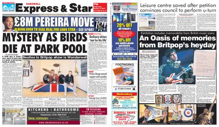 Express and Star Sandwell Edition – October 09, 2019