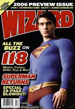 Wizard Magazine #172 February 2006
