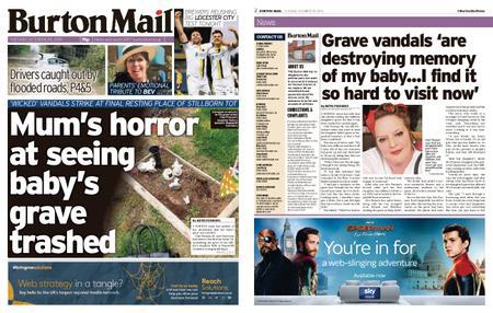 Burton Mail – October 29, 2019
