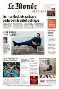 Le Monde du Samedi 5 Mai 2018