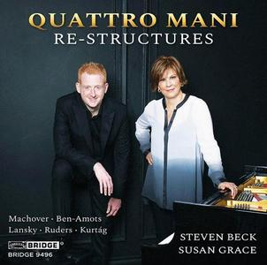 Quattro Mani - Re-Structures (2017) {Bridge Records BRIDGE 9496}