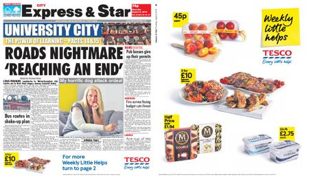 Express and Star City Edition – August 08, 2019