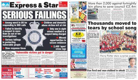 Express and Star City Edition – March 23, 2018