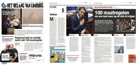Het Belang van Limburg – 13. oktober 2021