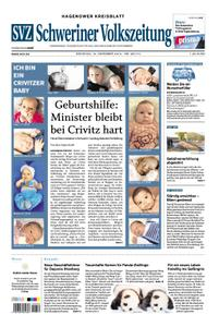 Schweriner Volkszeitung Hagenower Kreisblatt - 10. Dezember 2019