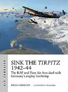 Sink the Tirpitz 1942–44: The RAF and Fleet Air Arm duel with Germany's mighty battleship (Air Campaign Book 7)