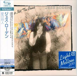 Jess Roden - The Player Not The Game (1977) Japanese SHM-CD Reissue 2010