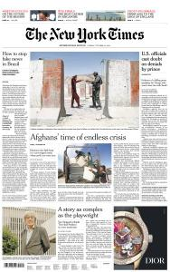 International New York Times - 19 October 2018