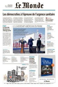 Le Monde du Mardi 31 Mars 2020