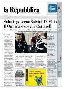 la Repubblica - 28 Maggio 2018
