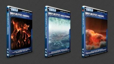 Video-Tutors Maya - Gnomon. Maya Fluid Effects (3 DVD)