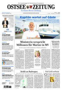 Ostsee Zeitung Wolgast - 05. September 2018